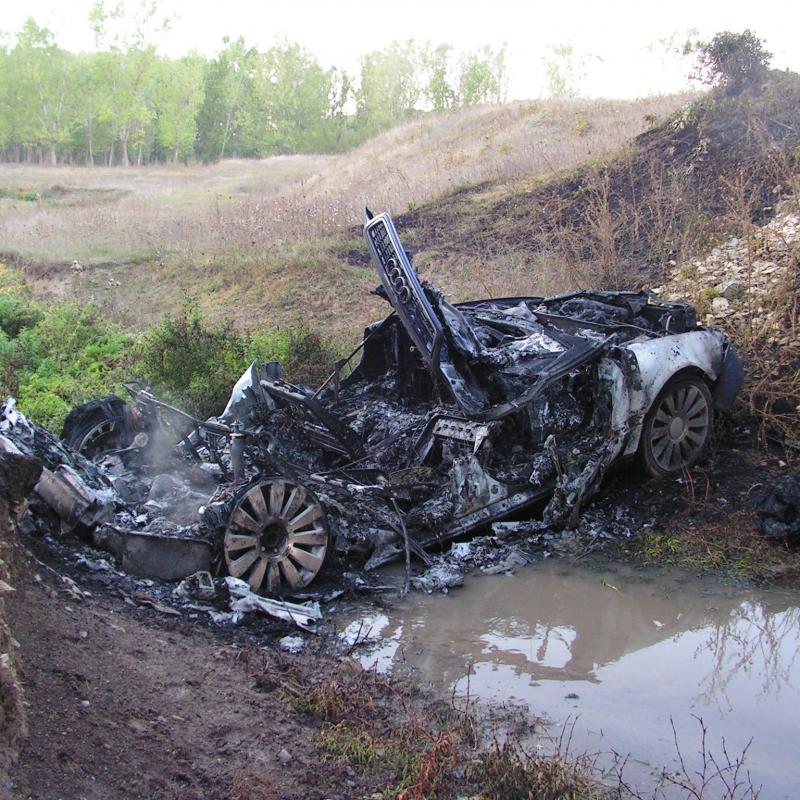 взрив на автомобил