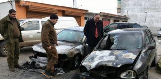 подпалени автомобили исперих