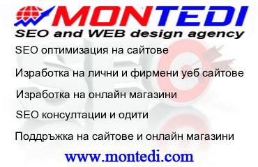 SEO агенция Монтеди