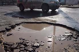 дупки по пътищата